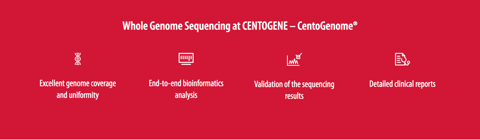 Features of Whole Genome Sequencing at Centogene